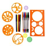 Set Spiral Art Kit Eddy Toys, 37 piese, Multicolor